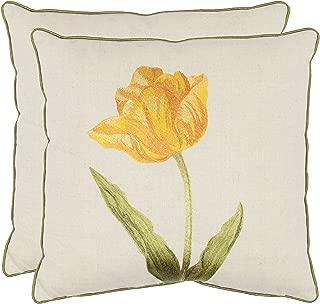Safavieh Collection Solitude Pillow, Set of 2, 18
