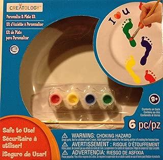 Creatology Personalize It Plate Kit
