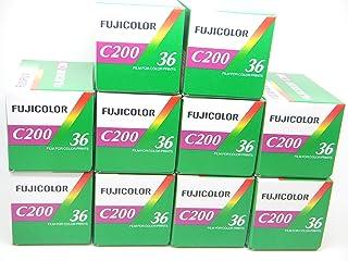 Fujifilm - C200 - película fotográfica de 35 mm (Color 36 exposiciones Paquete de 10 Unidades)