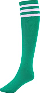 Women's Three Stripes Knee High Striped Socks
