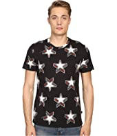 Just Cavalli - Slim Fit Stardust Print T-Shirt