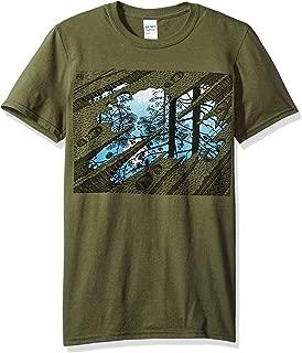Fish Pond Adult T-shirt - Light Blue