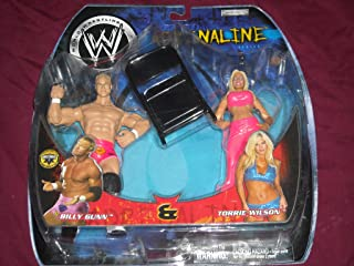 WWE Adrenaline Series 4 Billy Gunn & Torrie Wilson Real Scan Wrestling Action Figure