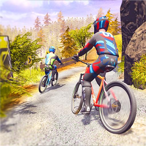 Mountain Bike Downhill Racing - Offroad...