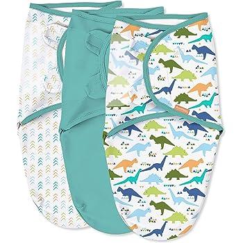 SwaddleMeyco ** Original Swaddle in 2 Gr/ö/ßen ** Pucksack//Schlafsack f/ür unruhige Babys und Schreibabys 0-3 Monate, Animals