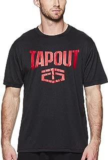 WWE Tapout Black Heather Wrecking Crew T-Shirt