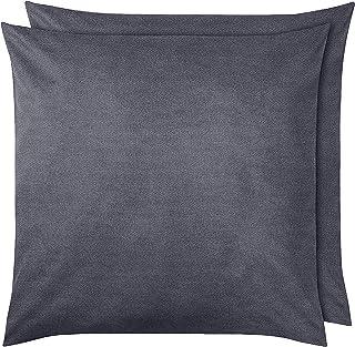 Amazon Basics Pillowcase, Gris foncé, 65 x 65 cm