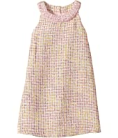 Us Angels - Sleeveless Ringer A-Line Boucle Dress (Toddler/Little Kids)