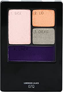 Maybelline New York Expert Wear Eyeshadow Quads, Luminous Lilacs, 0.17 oz.