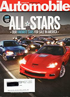 Automobile Magazine February 2009: All Stars Favorite Cars