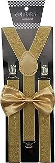 Unisex's Bow tie & Suspender Sets