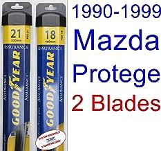 Best 2003 mazda protege windshield wiper size Reviews