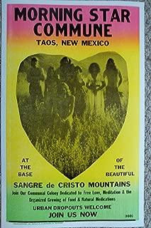Morning Star Commune in Taos, NM Poster