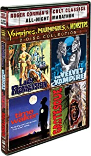 Vampires, Mummies And Monsters Collection - Roger Corman Cult Classics: (Lady Frankenstein / Time Walker / The Velvet Vampire & Grotesque)