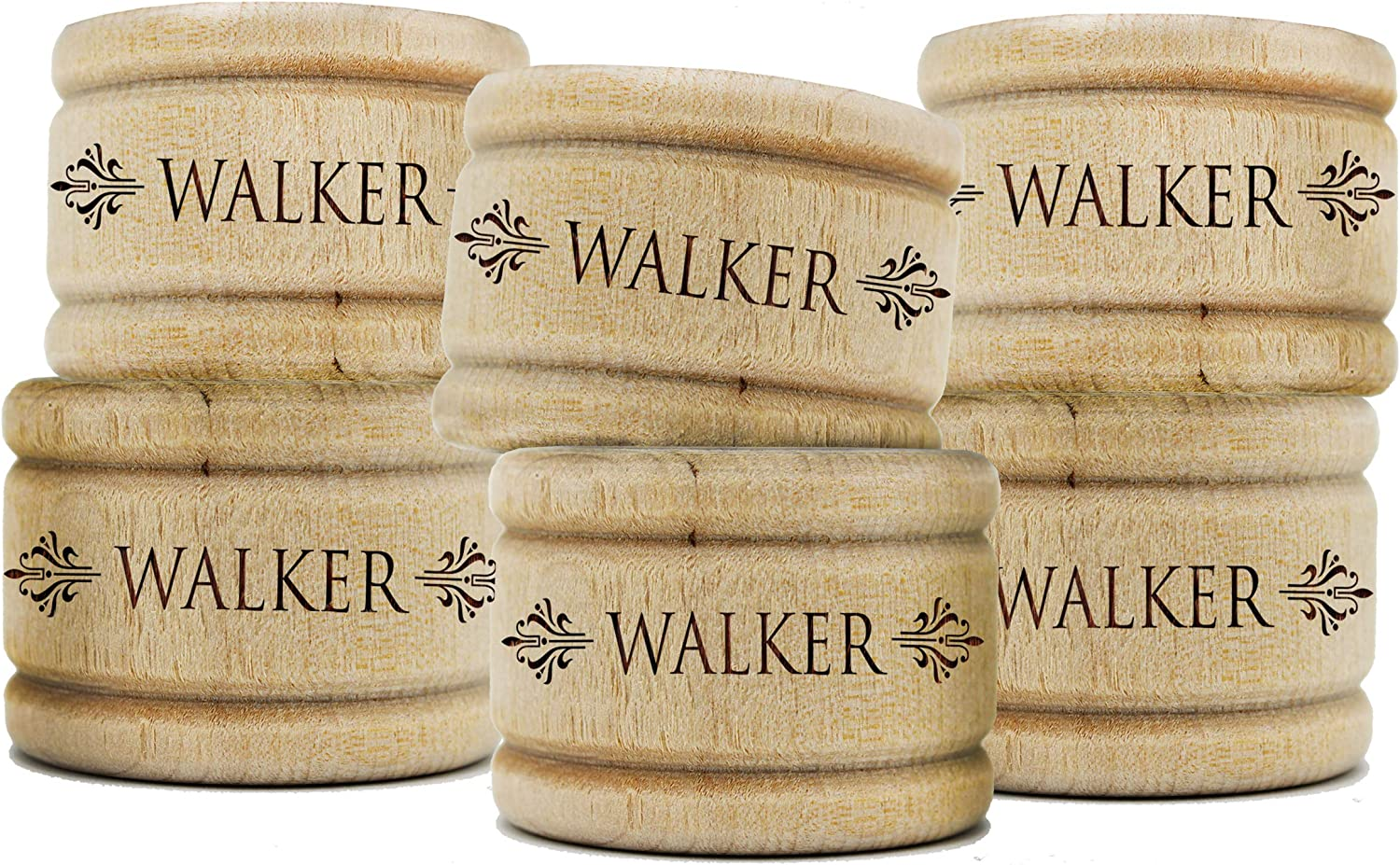 Custom Personalized Wooden Napkin Ring Holiday Holders for Home Limited time free Max 74% OFF shipping