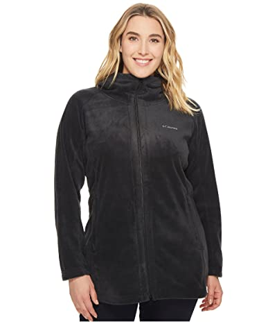Columbia Plus Size Benton Springstm II Long Hoodie (Black) Women