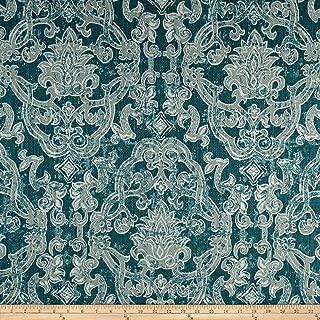 Lacefield Designs Contessa Basketweave Fabric, Seagrass Beck