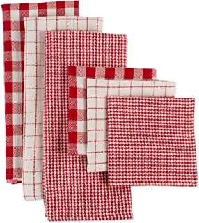 Best red and white checkered kitchen towels Reviews
