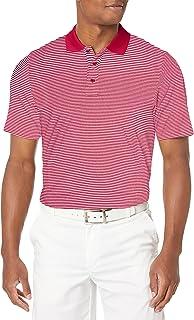 Cutter & Buck Men's Moisture Wicking UPF 50 Drytec Forge Tonal Stripe Polo Shirt