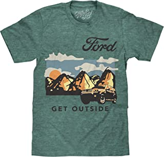 Tee Luv Ford Shirt Get Outside - Ford Motor Company Graphic T-Shirt