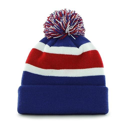 e5383dec9fc90  47 Brand Breakaway Fashion Cuff Beanie Hat with POM POM - NFL Cuffed  Winter Knit.