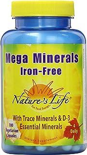 Nature's Life Mega Minerals w/ No Iron | 100 CT