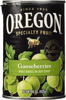 Oregon Fruit Gooseberries in Light Syrup - 15 oz