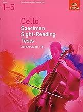 Cello Specimen Sight Reading Tests 1-5