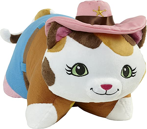 Pillow Pets Disney Sheriff Callie S Wild West Sheriff Callie Stuffed Animal Plush Toy