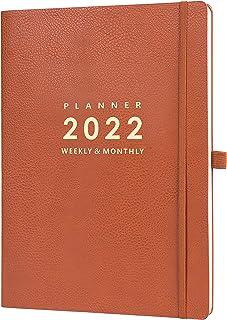 "$23 » 2022 Planner - Weekly & Monthly Planner 2022, 8.5"" x 11"", Jan. 2022 - Dec. 2022, Pen Holder, Calendar Stickers, Pocket, 25..."