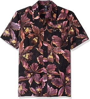 Volcom Boy'{S, L=Sleeveless} Resorta Vallarta Short Sleeve Button Up Shirt