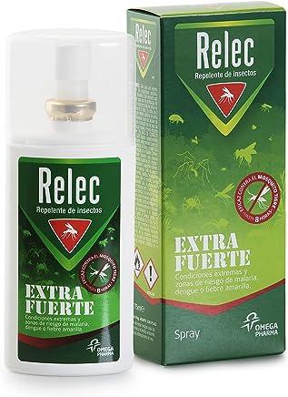 Relec Extra Fuerte Spray Eficaz Antimosquitos DEET 50%. Repelente mosquitos - 75 ml