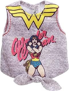 Barbie DC Comics Wonder Woman Grey Top Fashion