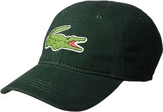 Lacoste Mens RK8217-51 Big Croc Gabardine Cap Baseball Cap