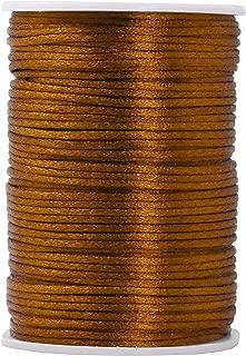 gold satin cord