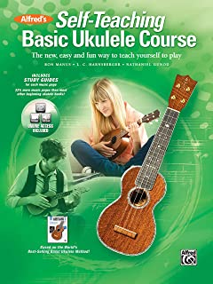 Alfred'S Self-Teaching Basic Ukulele Course: The New, Easy, and Fun Way to Teach Yourself to Play