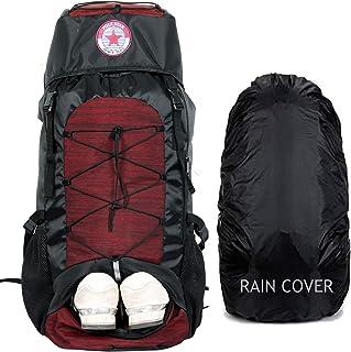 POLESTAR Flyer 55 ltrs Red Rucksack for Hiking Trekking/Travel Backpack Item Name (aka Title)