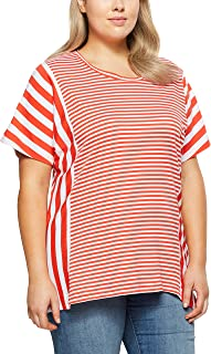 My Size Women's Plus Size Checkmate Stripey Top