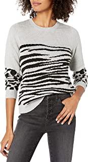 Women's Mixed Animal Pullover Sweater