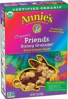 Annie's Bunny Grahams Friends Whole Grain Graham Snacks 7 oz. Box (Pack of 6)