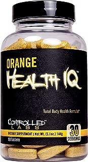 Controlled Labs Orange Health Iq 90 Count, 0.9 Pound