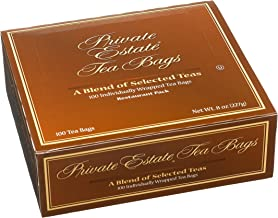 Private Estate Tea, 100-Count Envelopes (Pack of 10)