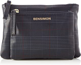 Bensimon DBE Card Holder, Rainy Tartan Femme, Taille unique