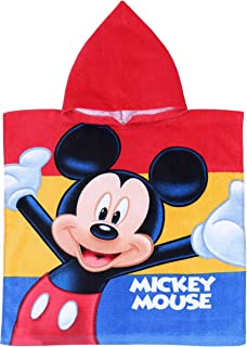 Disney Mickey Mouse 'Fun' Poncho toalla 100% algodón