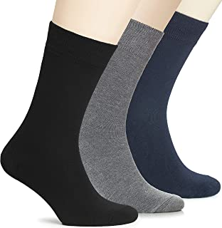 لباس هیو اوگولی سبک وزن زنانه بامبو نازک جوراب نازک جوراب خدمه تجاری گاه به گاه ، 3 جفت ، اندازه کفش: 6-9/9-12