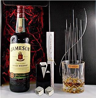 Geschenk Jameson irischer Whiskey  Whisky Glas  2 Kühlsteine