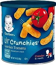 Gerber Graduates Lil' Crunchies Tomato, 1.48 Ounce