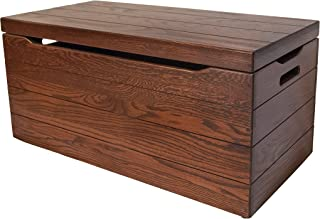 Amish Toy Chest, Hope Chest Solid Oak 36
