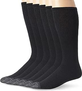 Fruit of the Loom Men's 6 Pack Over The Calf Tube Socks,