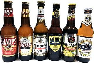Non-alcoholic Beer Variety Pack (Miller, Cools, Krombacher, Kaliber, Paulaner, Buckler) | 6 Packs